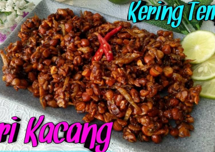 Kering Tempe Teri Kacang, Resep Dan Cara Bikin nya Gampang