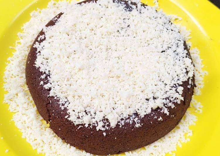 Cara Gampang Menyiapkan Brownies kukus Magicom Haan Instan yang Sempurna