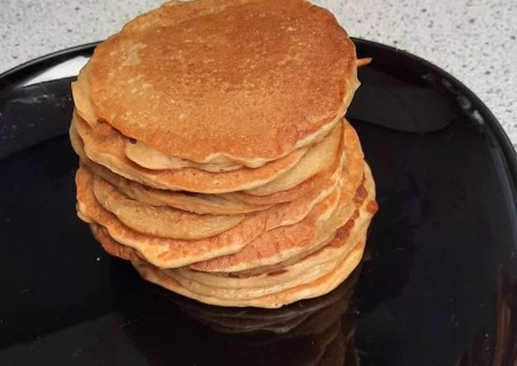 Recette Savoureux Pancake fifty-fifty