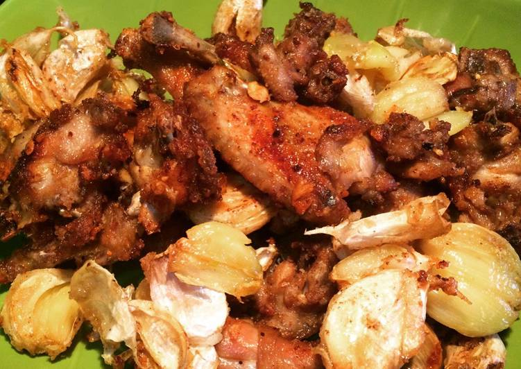 Resep Ayam Goreng Bawang Putih Khas Batam Oleh Naidasinna