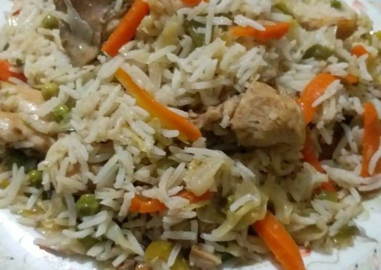 Recipe of Top-Rated Chinese Chicken Fried Rice