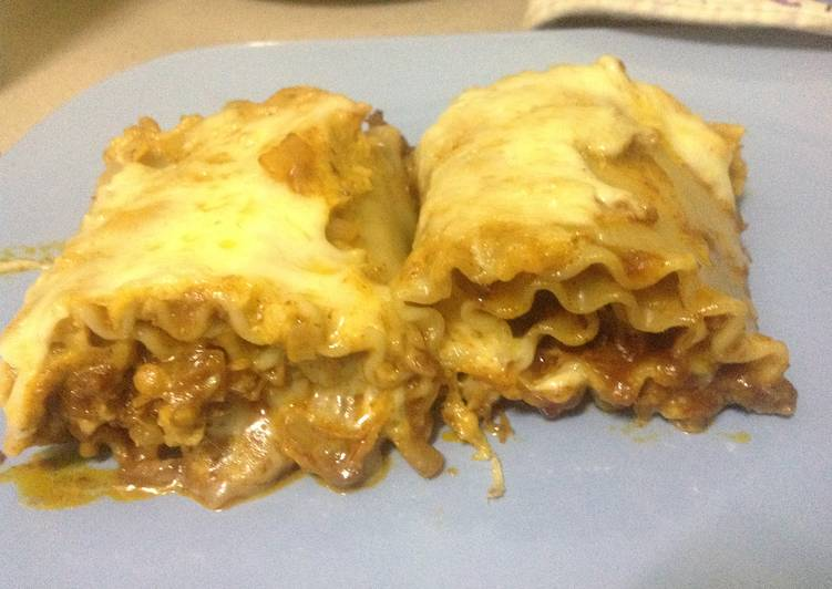 Recipe of Any-night-of-the-week Lasagna Rolls