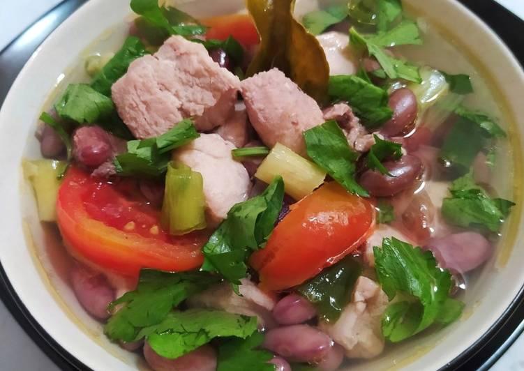 Sup Ikan Tuna Kacang Merah