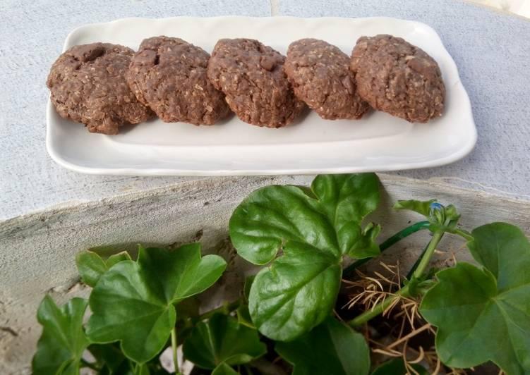 Cookies sans sucre a la farine complète