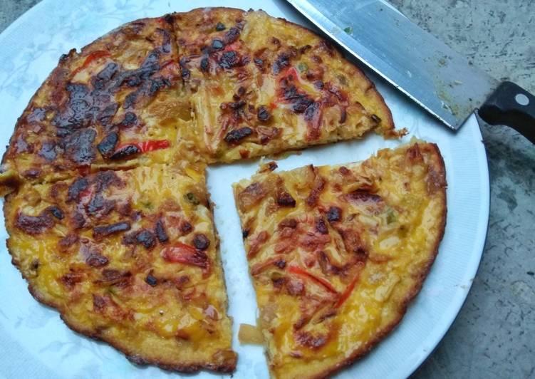 Resep Omelet Susu Keju Oleh Saluna Mahira Cookpad