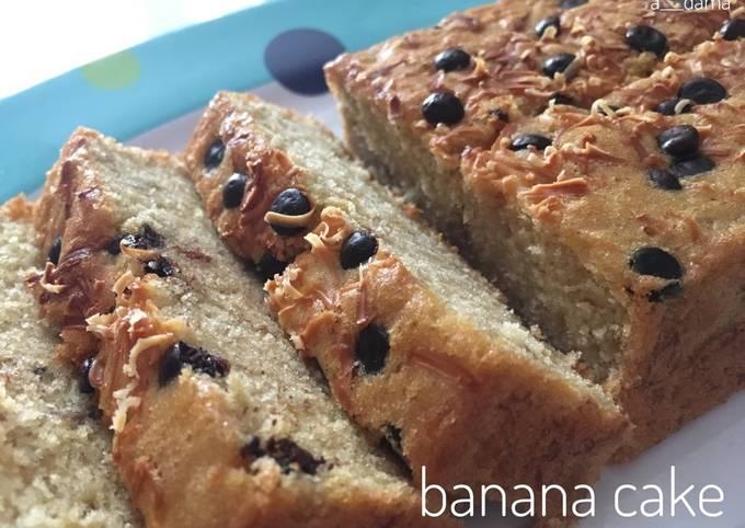 Resep Banana Cake Dg 5 Bahan Saja Tanpa Bahan Pengembang Oleh Aditya Damayanti Cookpad
