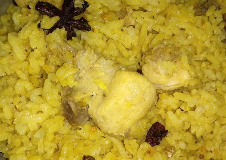Nasi kebuli ayam #festivalresepasia#india#dagingayam