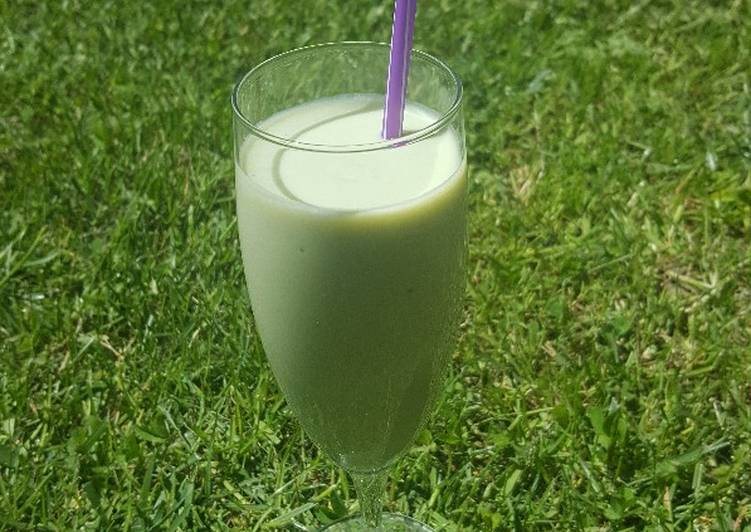 Smoothie à l'avocat version sucrée