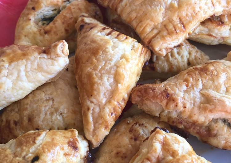 Recipe of Quick Pastry parcels