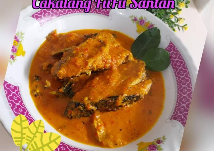 Cakalang Fufu Santan
