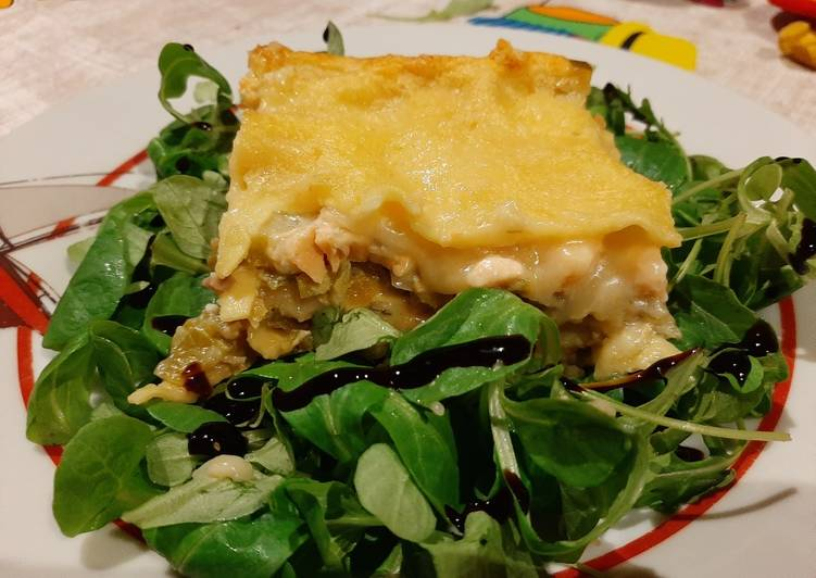 Comment Servir Lasagnes Saumon Poireaux