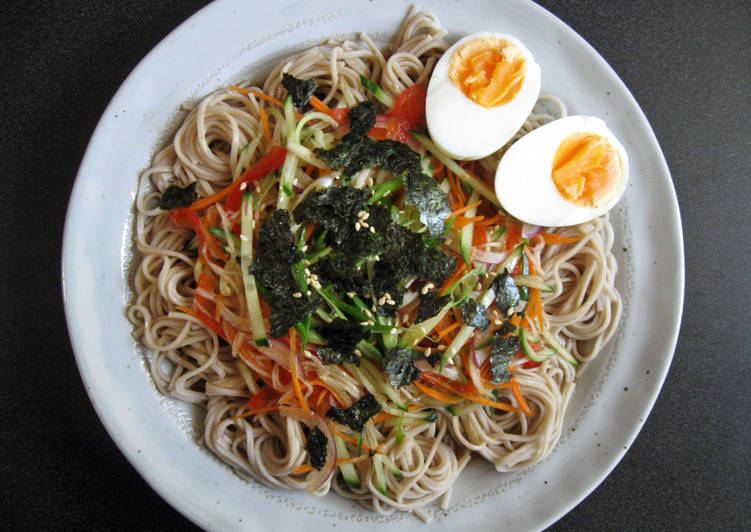 Soba Salad with Sesame Flavoured Sauce