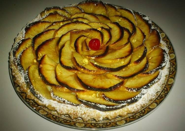 Le moyen le plus simple de Faire Parfait Tarte aux pommes a la crème