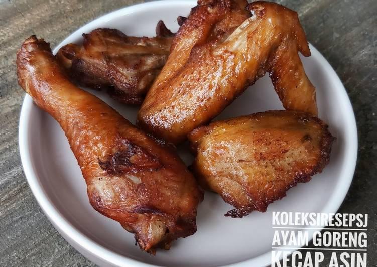 Ayam goreng kecap asin