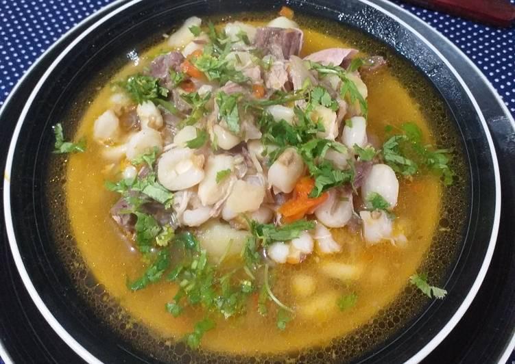 Calapurca...plato típico del norte de Chile Receta de Leo Morales De  Iquique - Cookpad