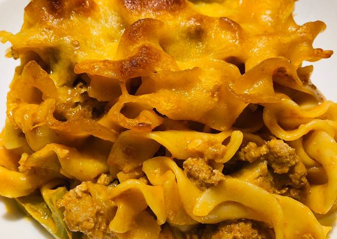 Quick and Easy Turkey 🦃 Noodle 🍜 Casserole 🥘