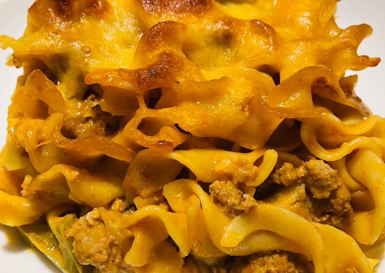 Recipe of Quick Quick and Easy Turkey 🦃 Noodle 🍜 Casserole 🥘