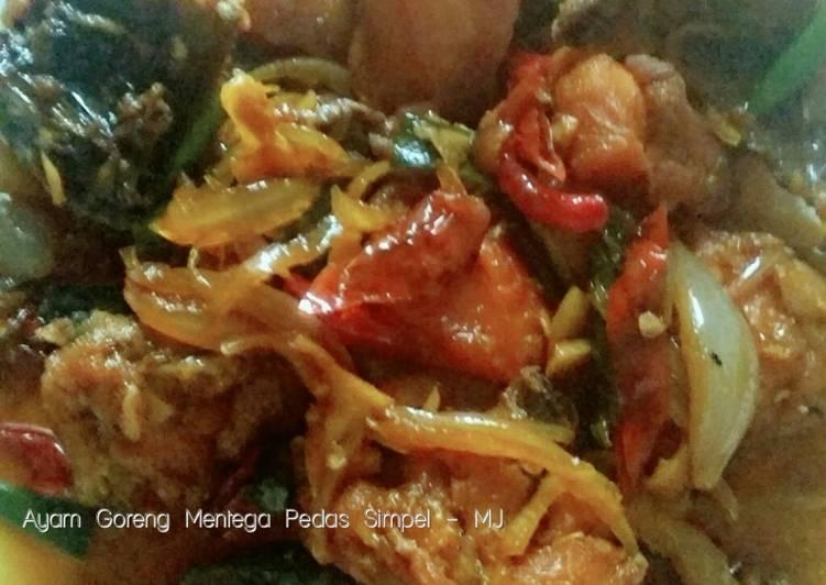 Resep Ayam Goreng Mentega Pedas Simpel Anti Gagal
