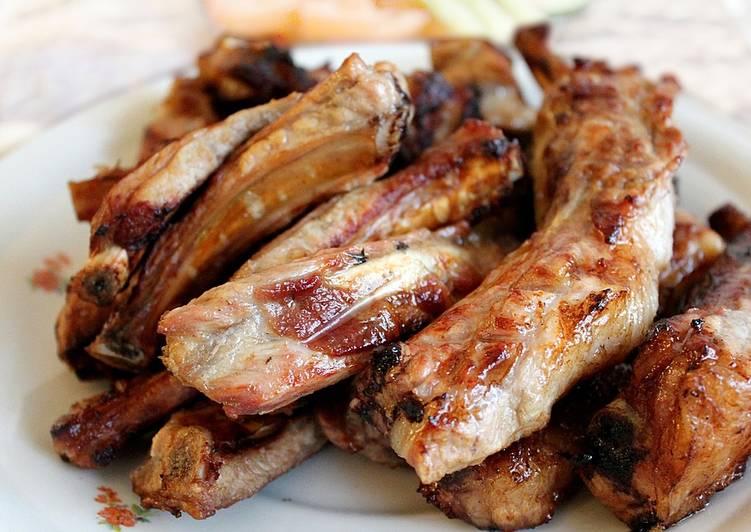 Steps to Make Any-night-of-the-week Pork BBQ | Dharane Kalo Bungurko Sekuwa