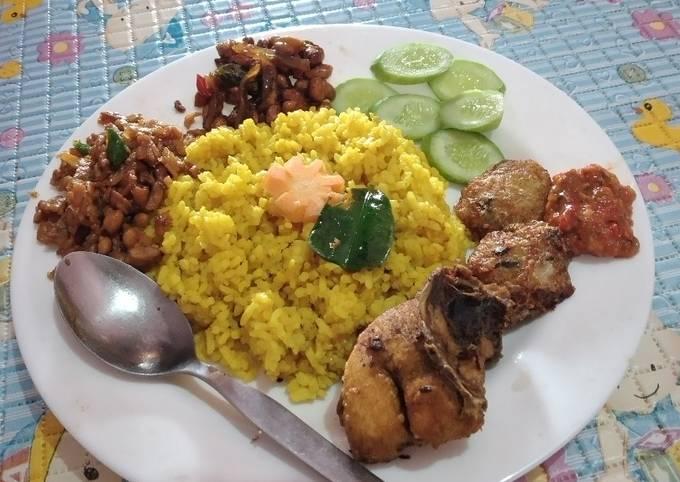 Resep Nasi kuning wong Arab Mami Qilla