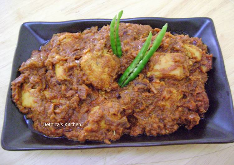 Chicken Vindaloo - Goan Style