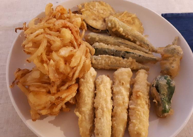 Japanese assorted Tempura(GF)