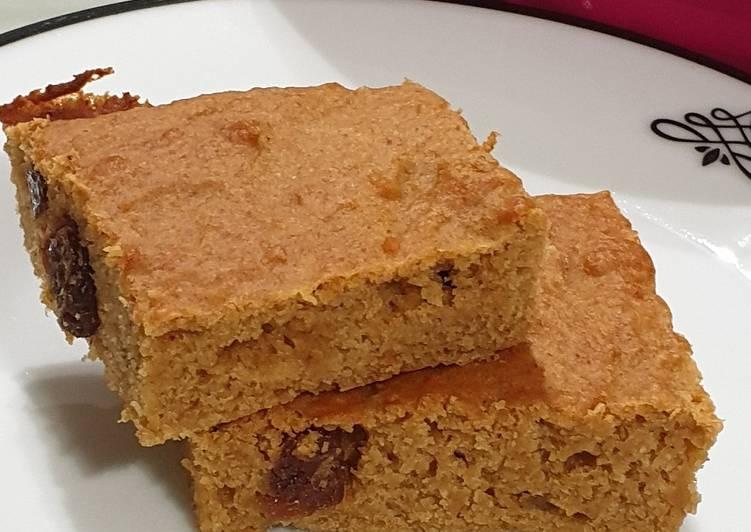 Gâteau à la compote de pommes ss oeufs/ss beurre