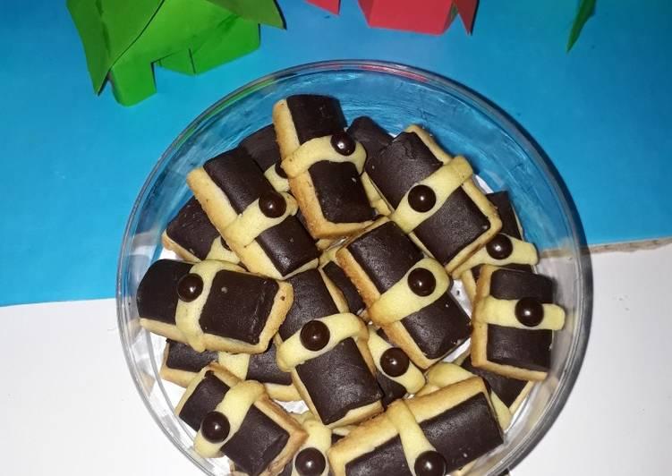 Langkah Mudah untuk Membuat Kue kering choco stick yang Bikin Ngiler