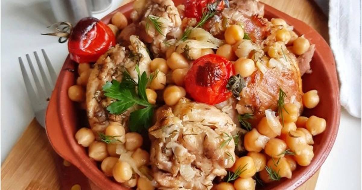 Вторые блюда из нута рецепты с фото