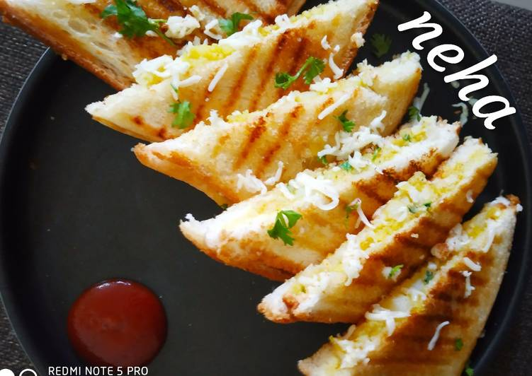 25 Minute Steps to Prepare Cooking Aloo Paneer masala Sandwiches