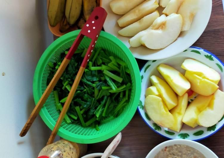 Resep Breakfast sehat dan sederhana Paling Gampang