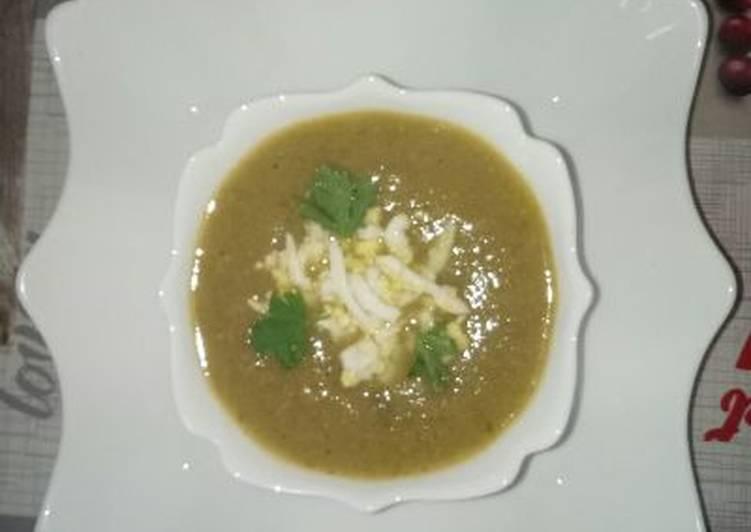 La soupe de légumes (hrira)🇩🇿🇩🇿