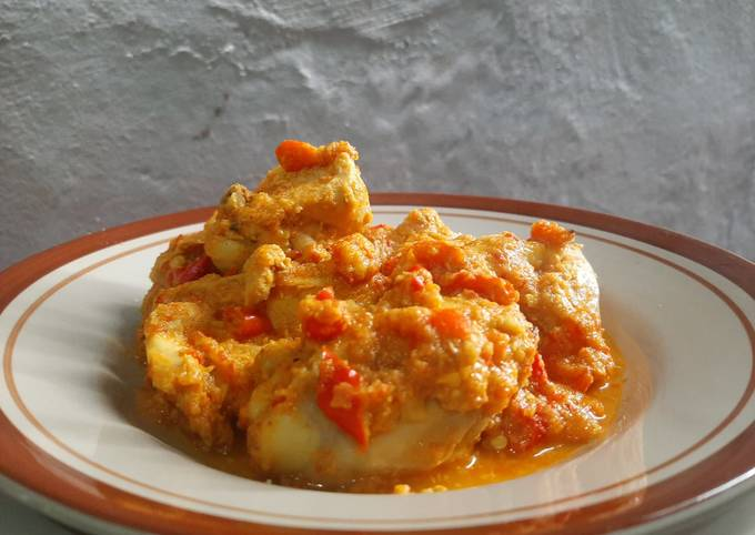 Gulai ayam menu diet no santan, no tepung, no gula, no minyak