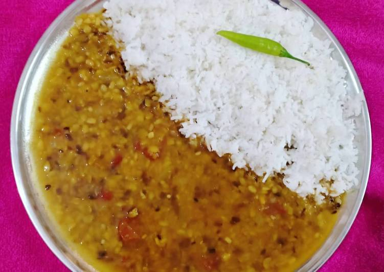 Mixed Dal & Rice
