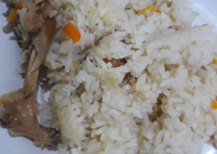 Nasi Hainan dgn Ricecooker