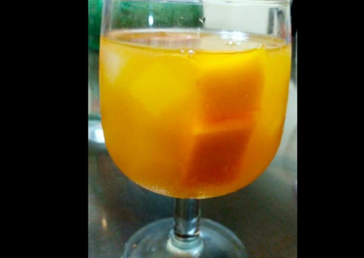 Es Soda jeruk mangga delight