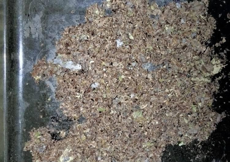 Bubuk teh daun bidara