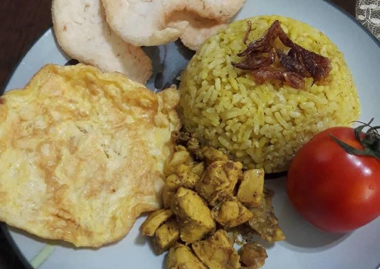 Nasi Kebuli Ayam Simple