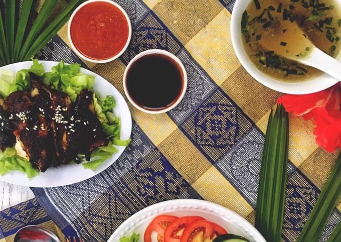 Nasi Ayam 1Malaysia