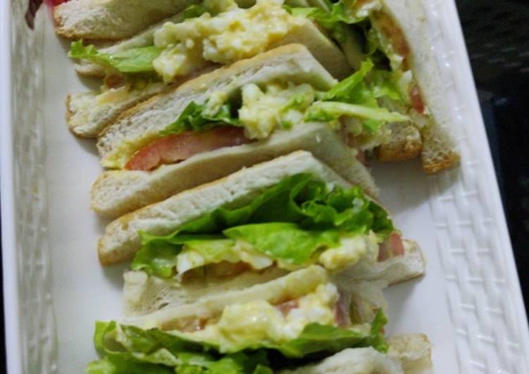 Cara Mudah Masak: Resepi sandwich telur yummeh  2021