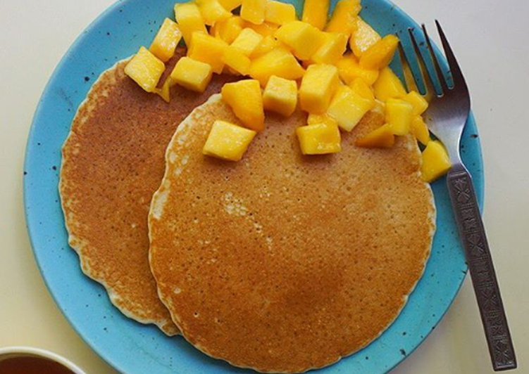 Delicious mornings with Fluffy Pancakes