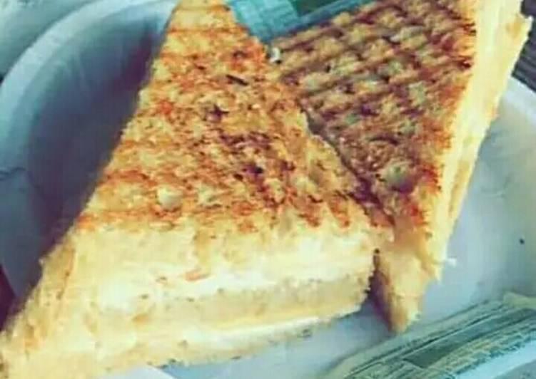 Recipe of Homemade Curd sandwich