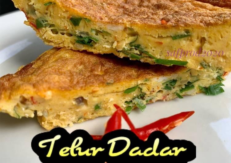 Telur Dadar Minang/Padang