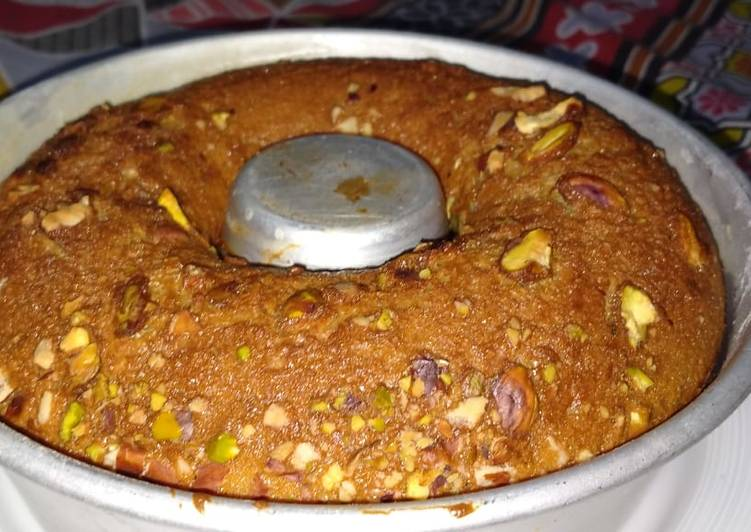 Recipe of Award-winning Gurr or sooji ka Cake