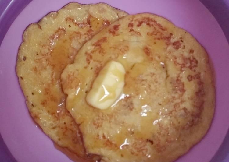 Resep Panekuk Pisang (Banana Pancake) Paling Gampang