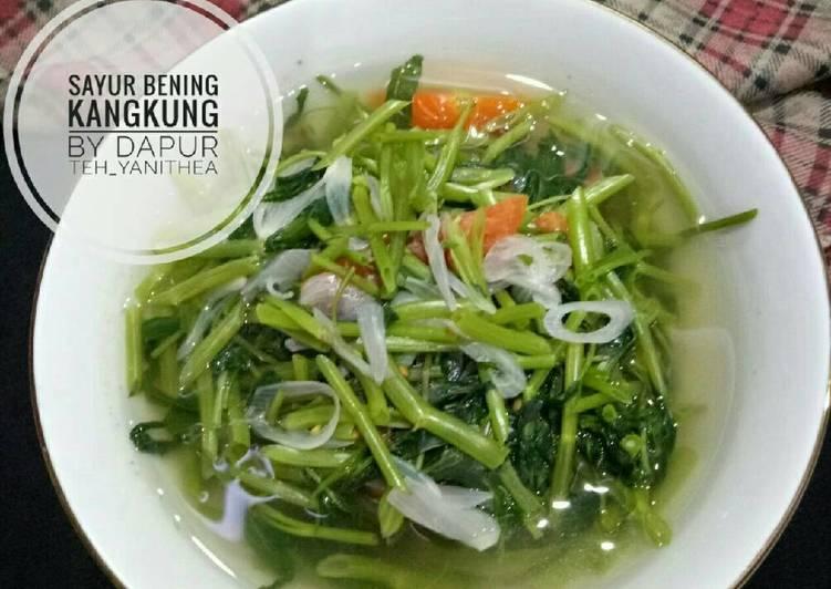 Sayur Bening Kangkung #bantumantenbaru
