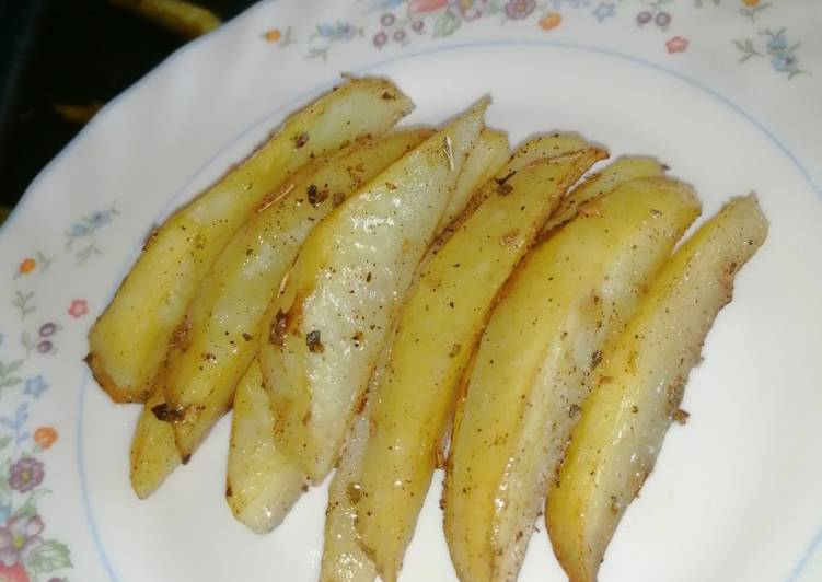 Baked potato wedges