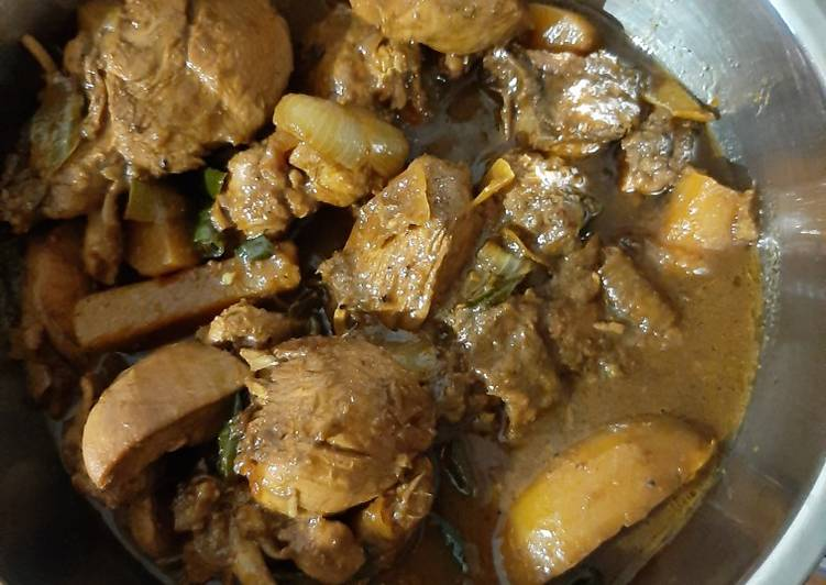 Semur ayam resep ibu