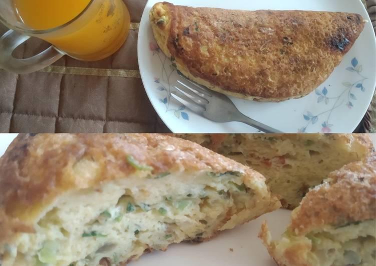 Makanan Kekinian: Fluffy Omelette Kampung