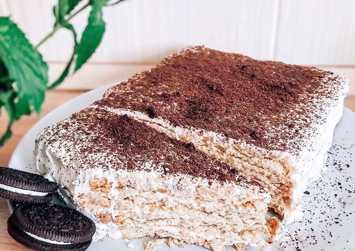 равномерно тортик на скорую руку рецепты с фото добронравова можно